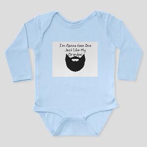 BABY BOY - BEARD - I'M GONNA HAVE ONE JU Body Suit