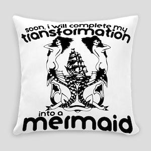 Mermaid Everyday Pillow