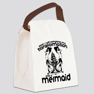 Mermaid Canvas Lunch Bag