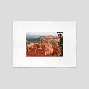 Bryce Canyon, Utah, USA 17 5'x7'Area Rug