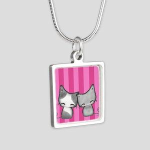 BFF Cats by xangetsu studio Necklaces