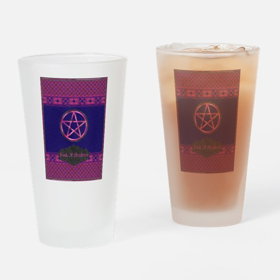 Book of shadows Drinking Glass