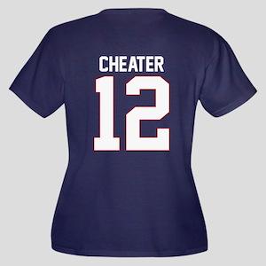 Cheater Tom #12 V-Neck Dark Plus Size T-Shirt
