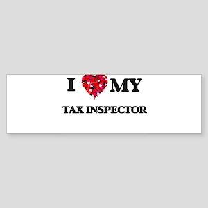 I love my Tax Inspector hearts desi Bumper Sticker