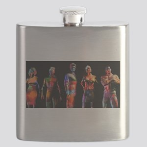 Business People Background Flask