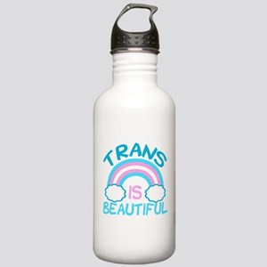 Pretty Trans Stainless Water Bottle 1.0L