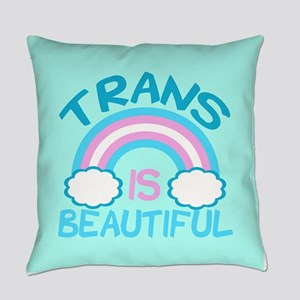 Pretty Trans Everyday Pillow