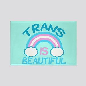 Pretty Trans Rectangle Magnet