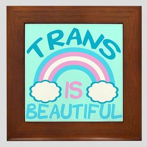 Pretty Trans Framed Tile
