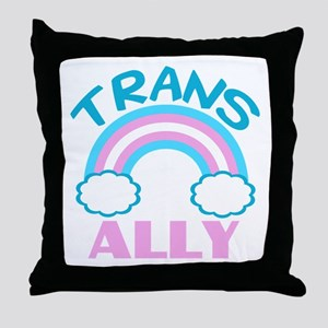 Transgender Ally Throw Pillow