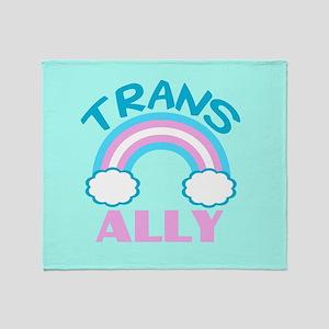 Transgender Ally Throw Blanket