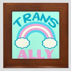 Transgender Ally Framed Tile