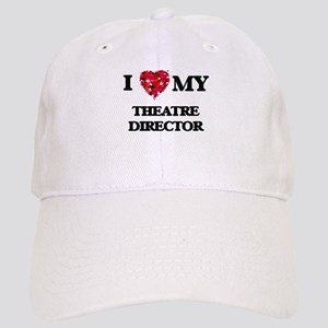 I love my Theatre Director hearts design Cap