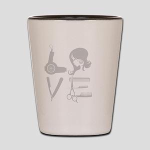 HAIR LOVE Shot Glass