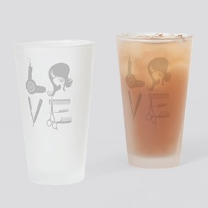 HAIR LOVE Drinking Glass