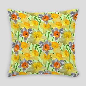 Daffy Daffodil Everyday Pillow