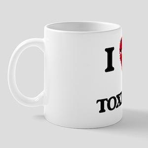 I love my Toxicologist hearts design Mug