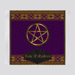 Book of shadows Throw Blanket