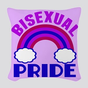 Bisexual Pride Woven Throw Pillow