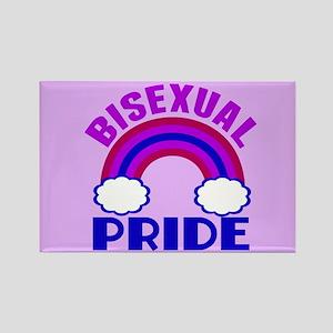Bisexual Pride Rectangle Magnet