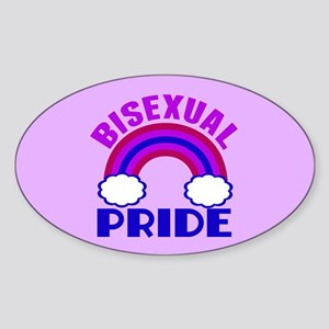Bisexual Pride Sticker (Oval)
