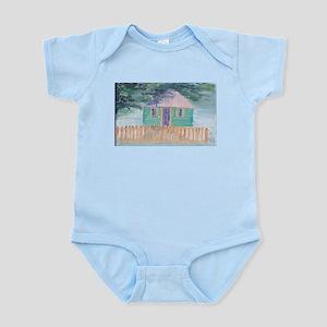 Green Tropical Home Infant Bodysuit