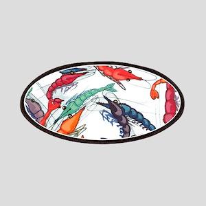 shrimp party Patch