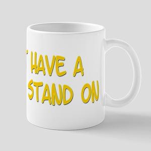 Leg to stand on Mug