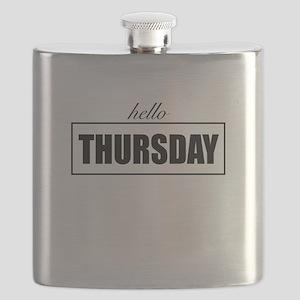Hello Thursday Flask