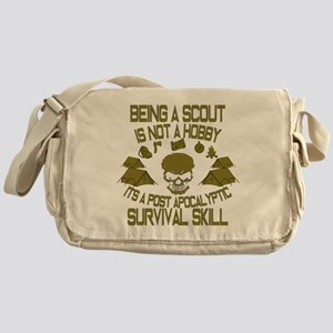 Being A Scout Is Not A Hobby 2 Messenger Bag