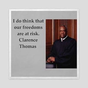 Clarence Thomas quote Queen Duvet