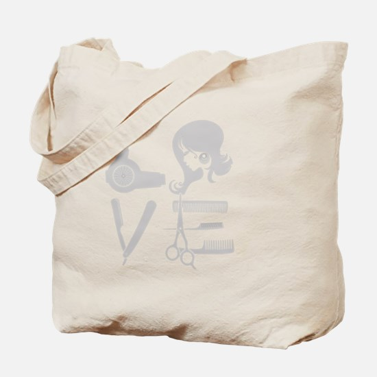 love and hair Tote Bag