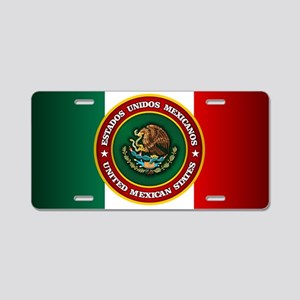 Tribute to Mexico Aluminum License Plate