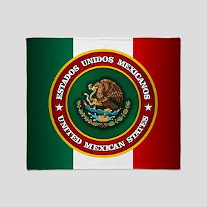 Tribute To Mexico Throw Blanket