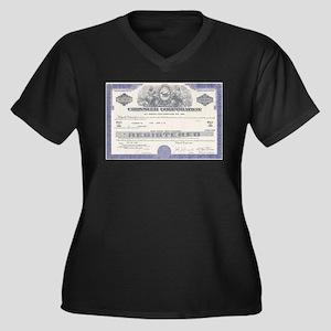 Chrysler stock certificate Plus Size T-Shirt
