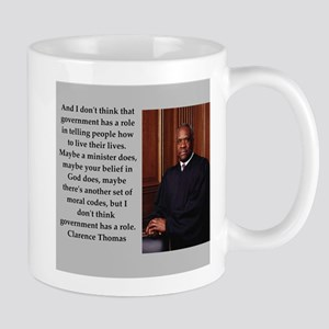 Clarence Thomas quote Mugs