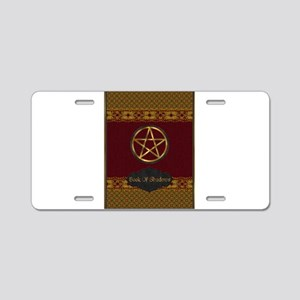 Book of shadows Aluminum License Plate