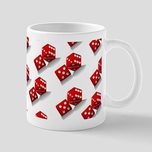 Las Vegas Red Dice Mugs