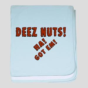 Deez Nuts! baby blanket
