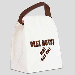 Deez Nuts! Canvas Lunch Bag