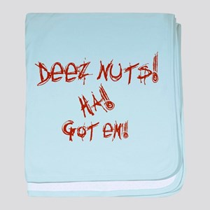 Deez Nuts!!! baby blanket