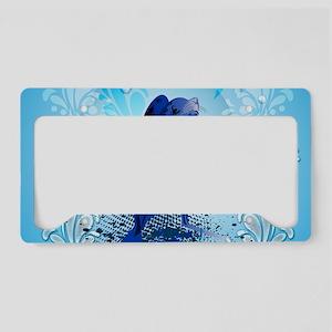 Cute walrus with decorative splash elements Licens