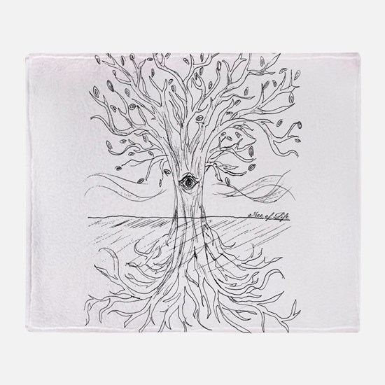 Tree of Life Throw Blanket