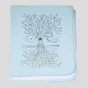 Tree of Life baby blanket