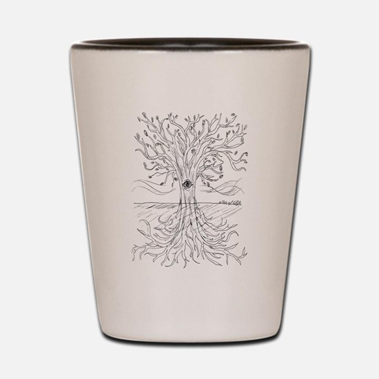 Tree of Life Shot Glass