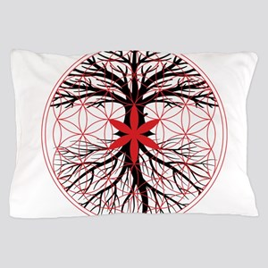 Tree of Life / Flower of Life Pillow Case