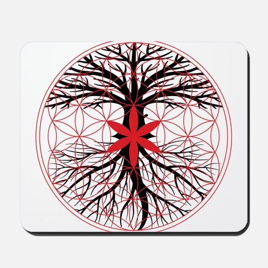 Tree of Life / Flower of Life Mousepad