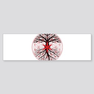 Tree of Life / Flower of Life Bumper Sticker
