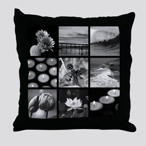 Create Your Own Nine Square Photo Collage Throw Pi