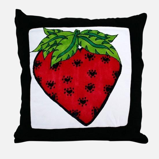 Heartberry Throw Pillow